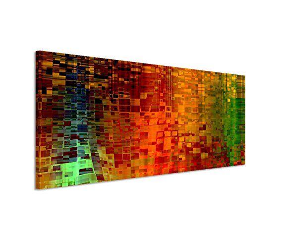 150x50cm Leinwandbild auf Keilrahmen Kunst Hintergrund abstrakt