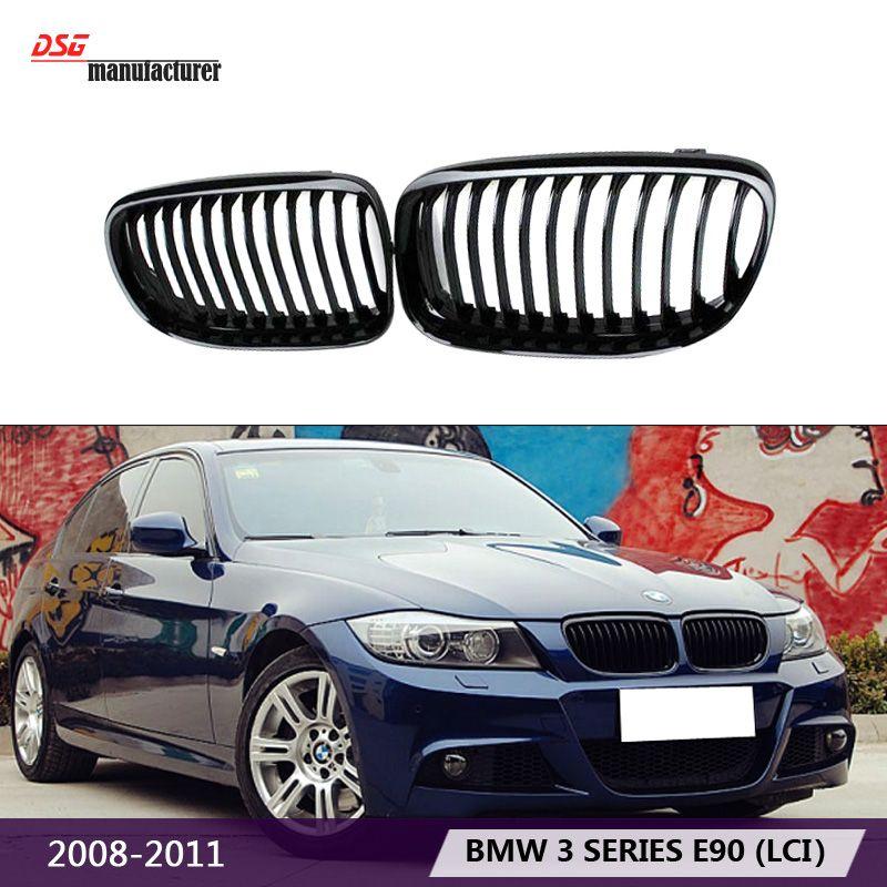 E90 E91 Lci Car Styling M3 Style Black Abs Plastic Front Bumper
