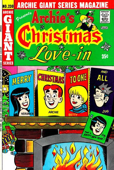 Cover for Archie Giant Series Magazine (Archie, 1954 series) #230