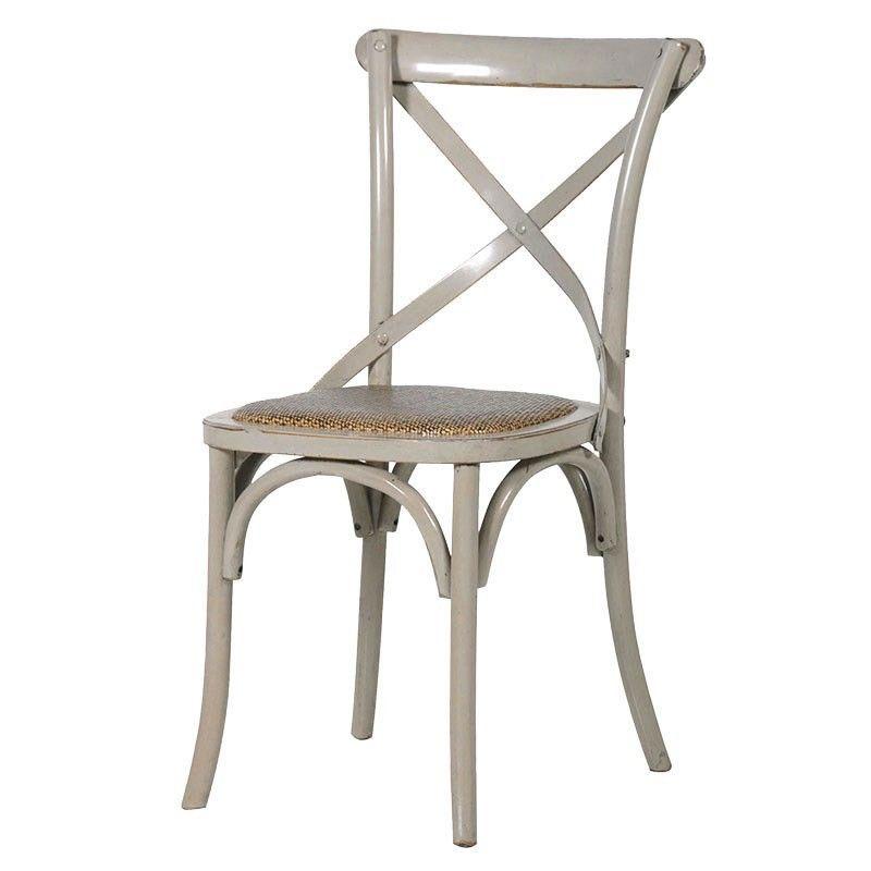 Gloucester Grey Cross Back Dining Chair