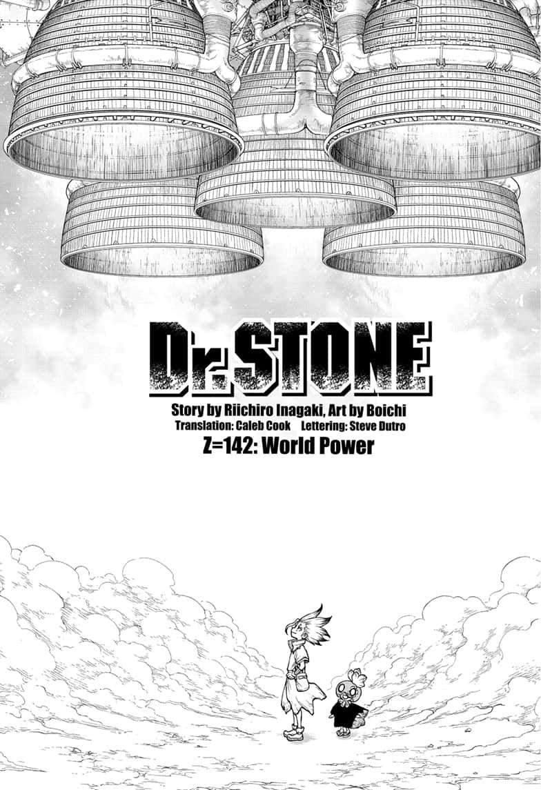 Dr Stone Chapter 142 In 2020 Chapter Science Fiction Adventure Stone