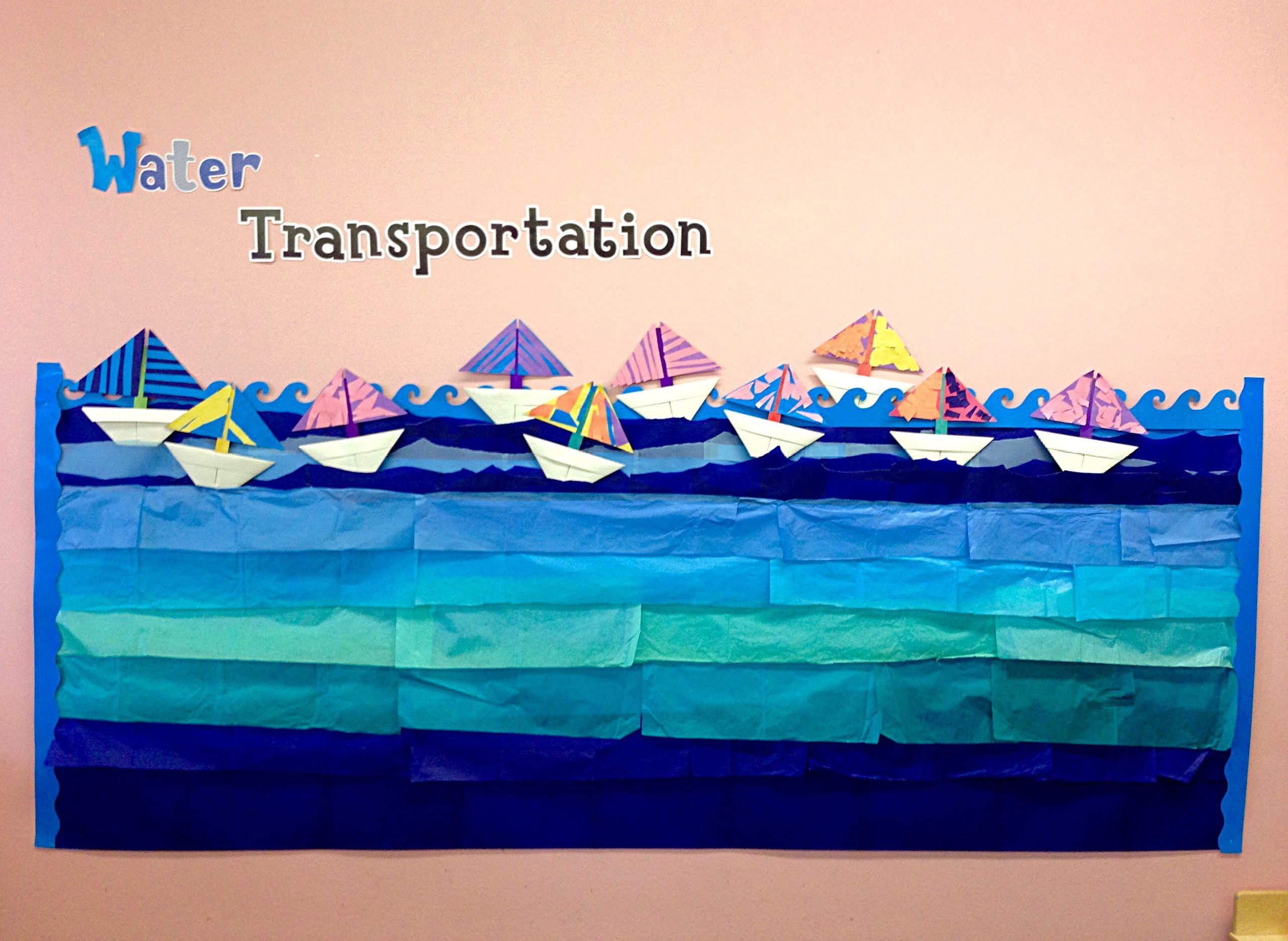 Water Transportation -- Boat Craft