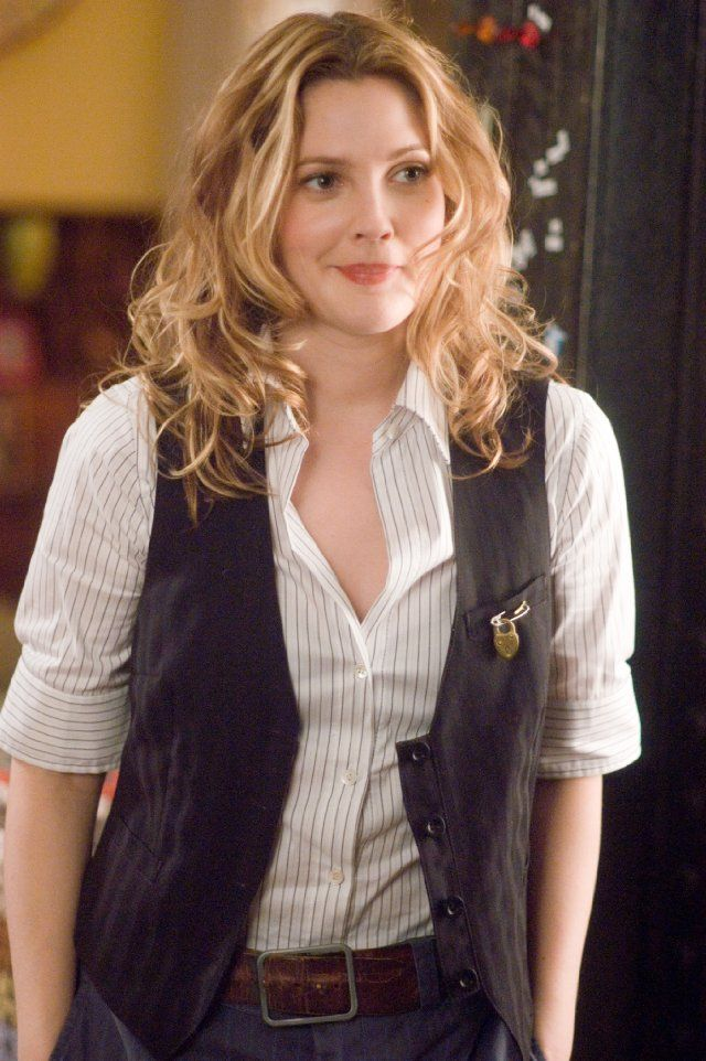 81324854 Drew Barrymore has, like, the ultimate style in Music and Lyrics. I want it  so badly. Just take her character's wardrobe and give it all to me. Now.