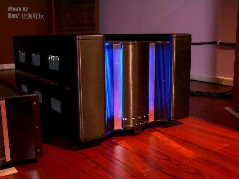 Krell Mra Amplifier Audio Design Turntable Vintage Hifi