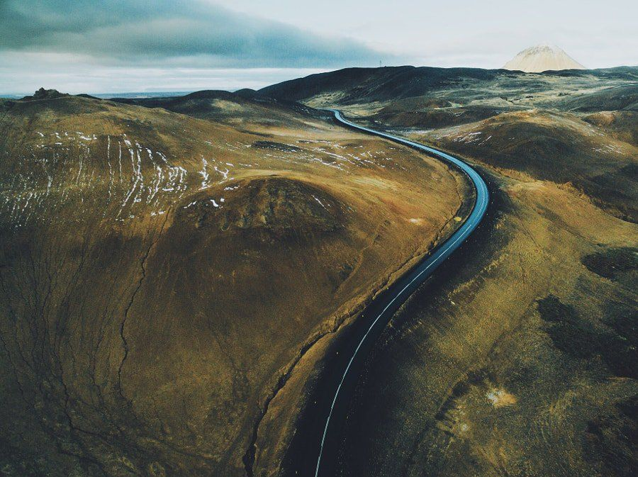 Over the road by Daniel Casson