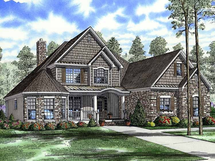 Craftsman House Plan With 2852 Square Feet And 4 Bedrooms S From Dream Home Source Country Style House Plans Craftsman House Plans Craftsman Style House Plans