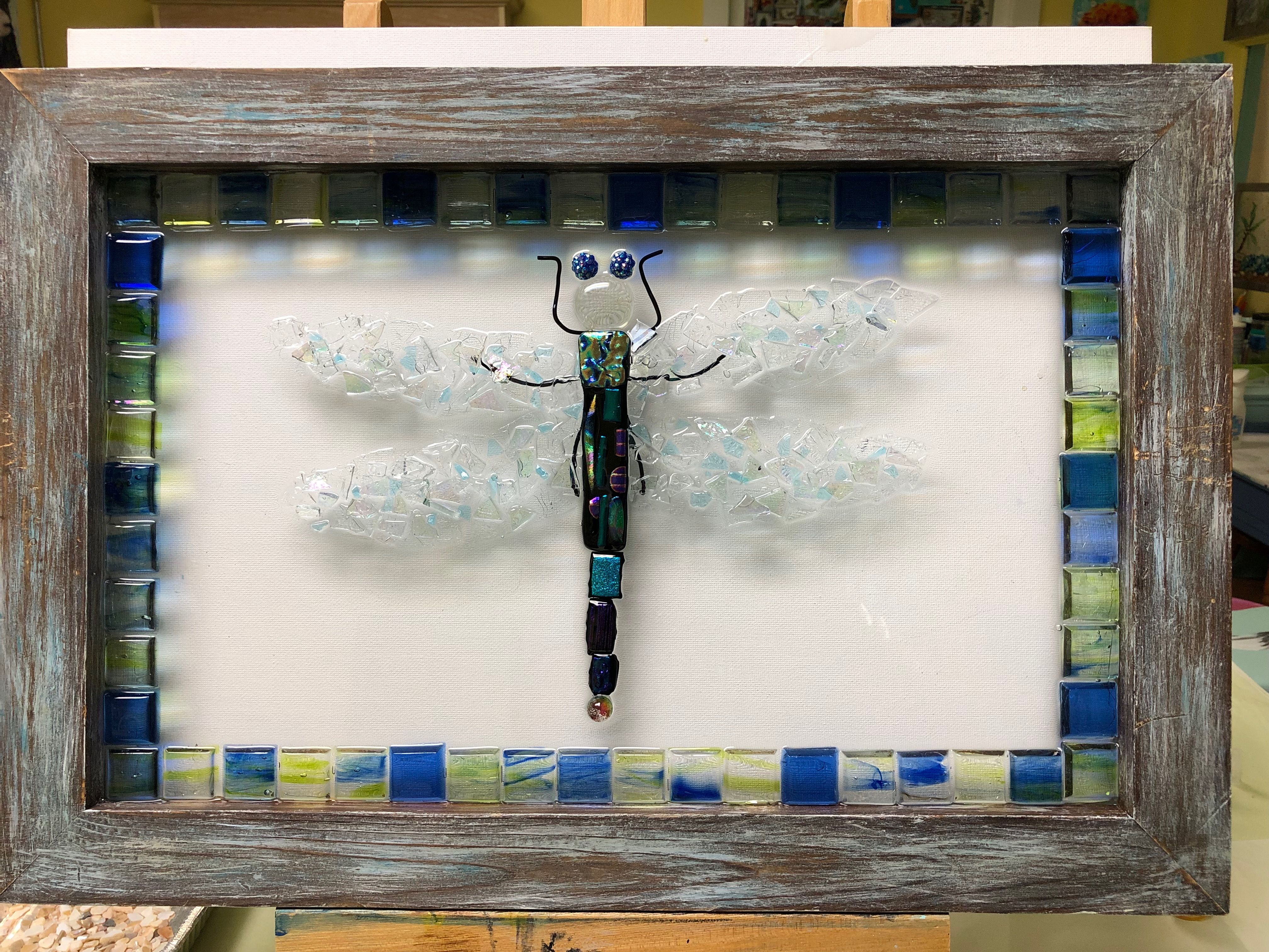 Dragonfly Resin Art Online Resin classes available on my