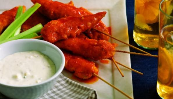 Hungry? Try This Healthy Buffalo Chicken Recipe | Men's Fitness