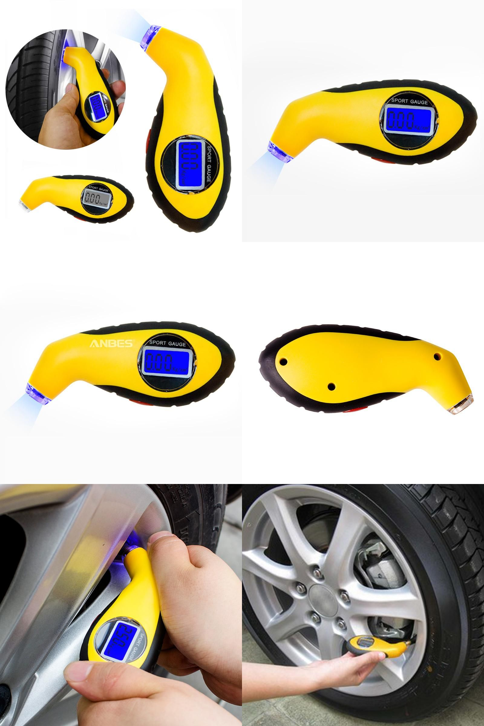 Visit to Buy] Diagnostic Tools tire pressure gauge Meter Manometer ...