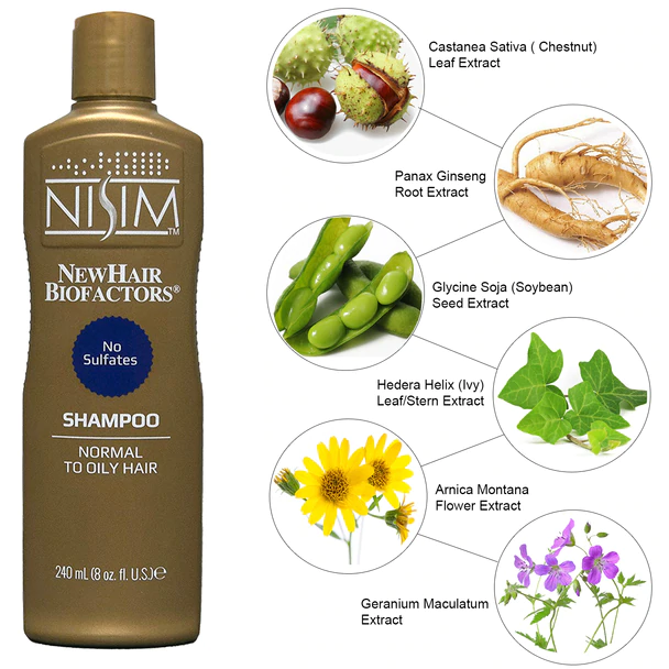Nisim NewHair Biofactors Shampoo in 2020 Excessive hair