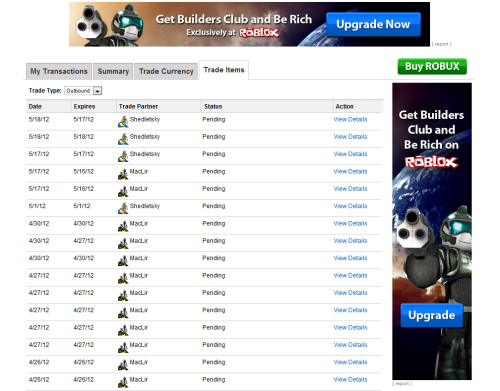 Trading System Roblox Support Trading Roblox System