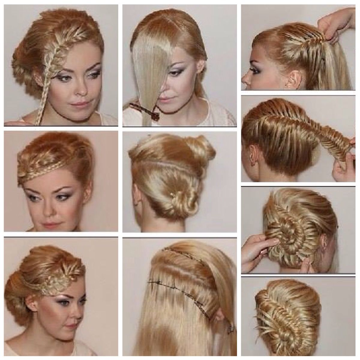 Hairstyle Tutorials Pinhaydee On #hairtutorials And More  Pinterest  Hair