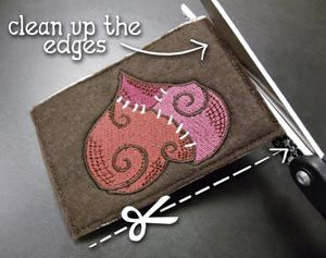 Tutorials urban threads unique and awesome embroidery designs tutorials urban threads unique and awesome embroidery designs in the hoop business card holders reheart Images