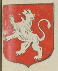 L'Abbaye de Preüilly. Porte : de gueules, à un lion d'argent | N° 123 > Loches