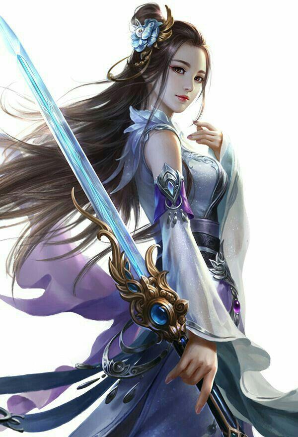Good Asian fantasy art women warriors intolerable