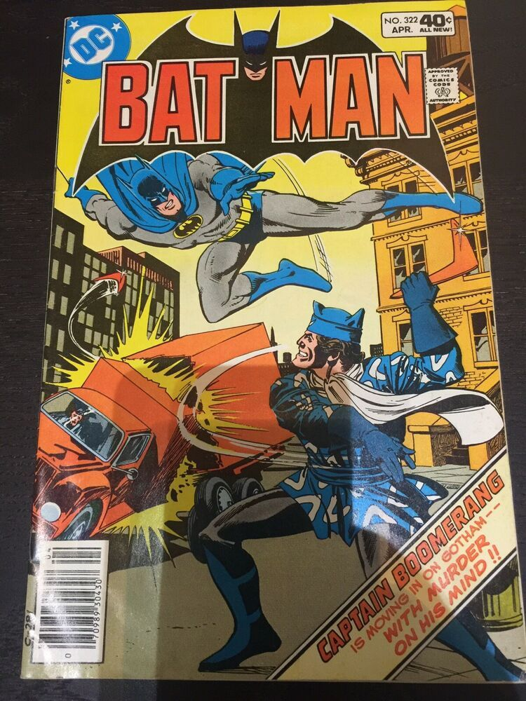Batman 322 Captain Boomerang Cover Ebay Captain Boomerang Silver Age Comic Books Comic Books For Sale