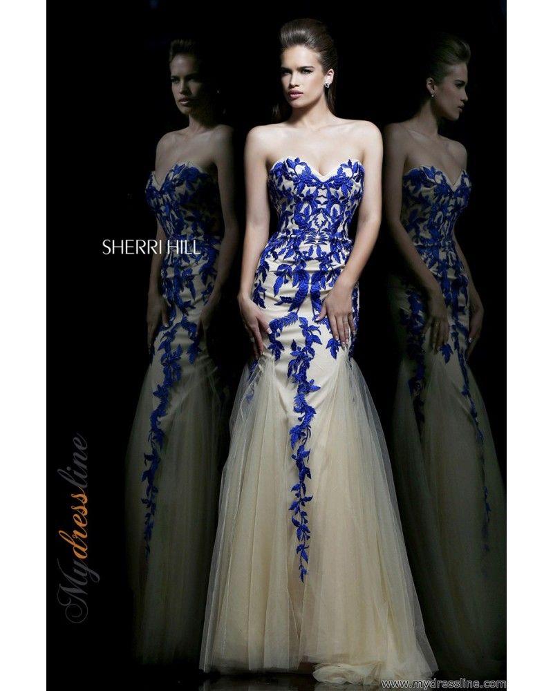 Sherri hill lace wedding dress  Sherri Hill   Simply Glamorous  Pinterest  Prom ideas Lace