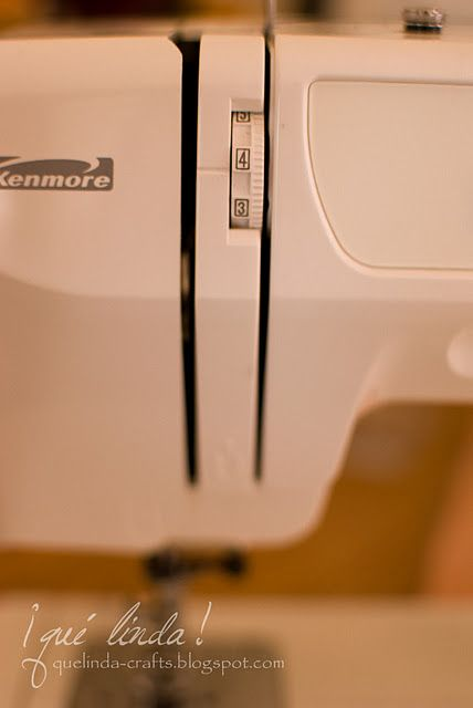 Tips for sewing machine