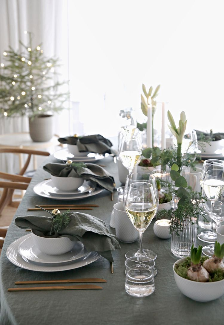 The Art of Styling: Christmas Dining, Preparation – Jessica …