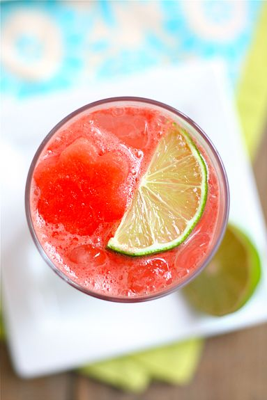 sparkling watermelon limeaid.