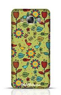 Floral Pattern Samsung Galaxy E7 Phone Case