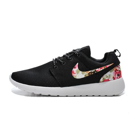 7a66d10c7bf3 Unisex Custom Roshe Run Walking athletic running shoes with floral print