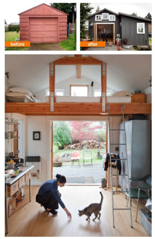 I Love The Idea Of Detached Garage Renovations It S The Perfect