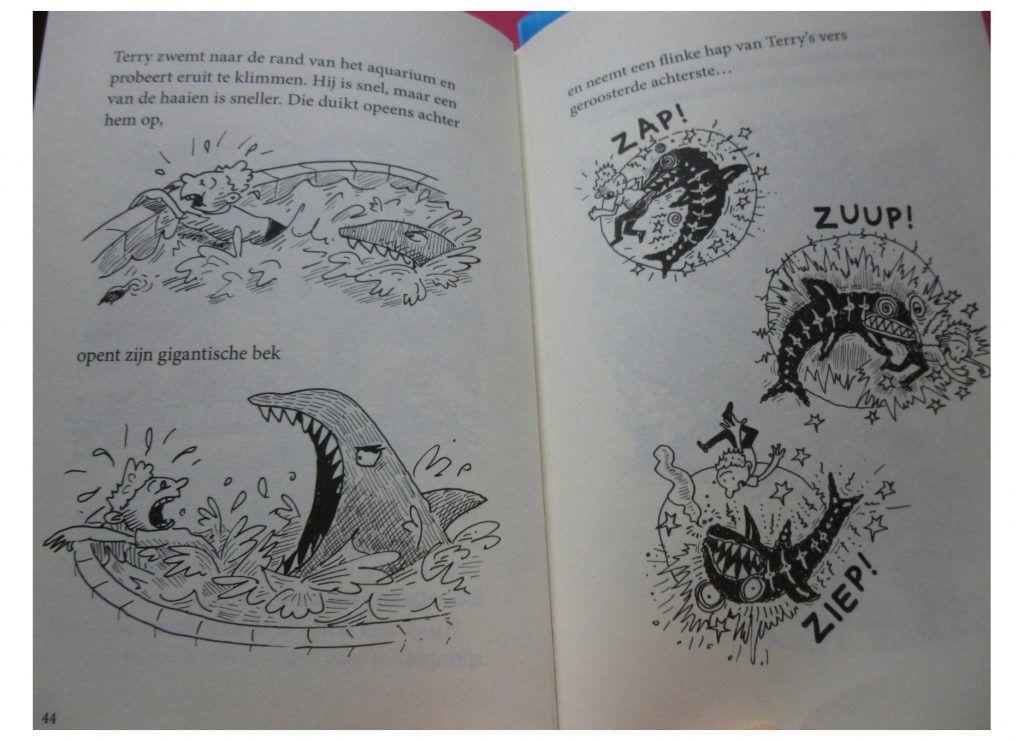 De waanzinnige boomhut van 78 verdiepingen Andy Griffiths Terry Denton Lannoo graphic novel film koe winkel De waanzinnige boomut van 91 verdiepingen reeks serie Zelf Lezen hilariteit recensie review