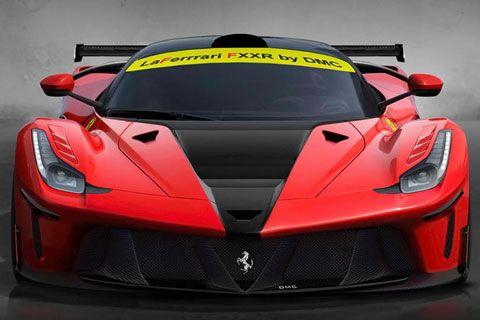 2014 DMC Ferrari LaFerrari FXXR: 6.3 Liter V12 Hybrid with 949 Horsepower. 0 to 60 mph in 3.0 seconds. Top Speed of 217 mph. Est. price $1,000,000.00