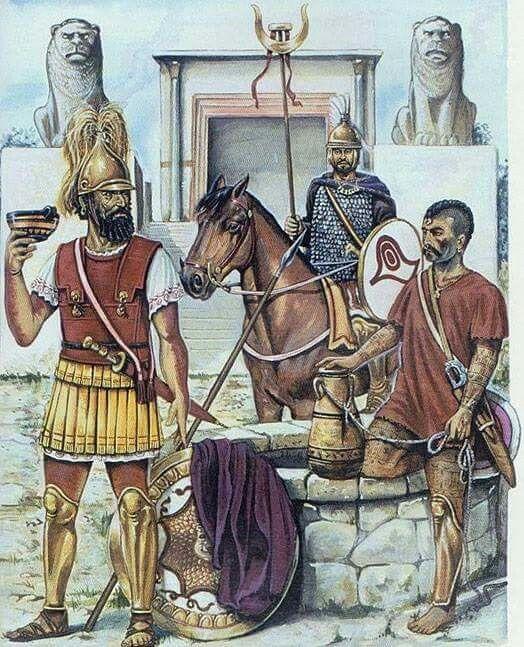 Resultado de imagen de libios-fenicios