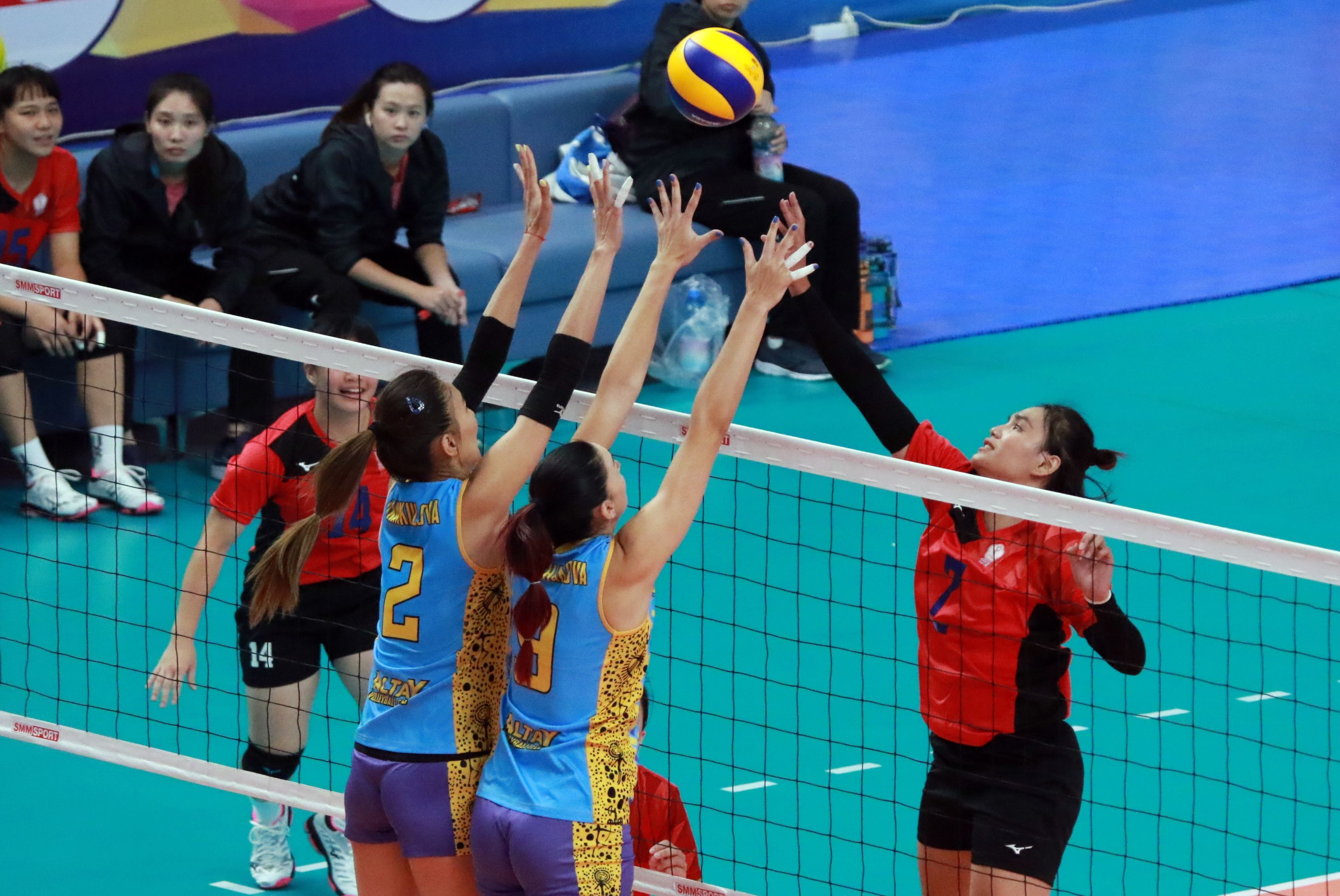 World Volleyball Is Under Construction Asian Woman Volleyball Asian