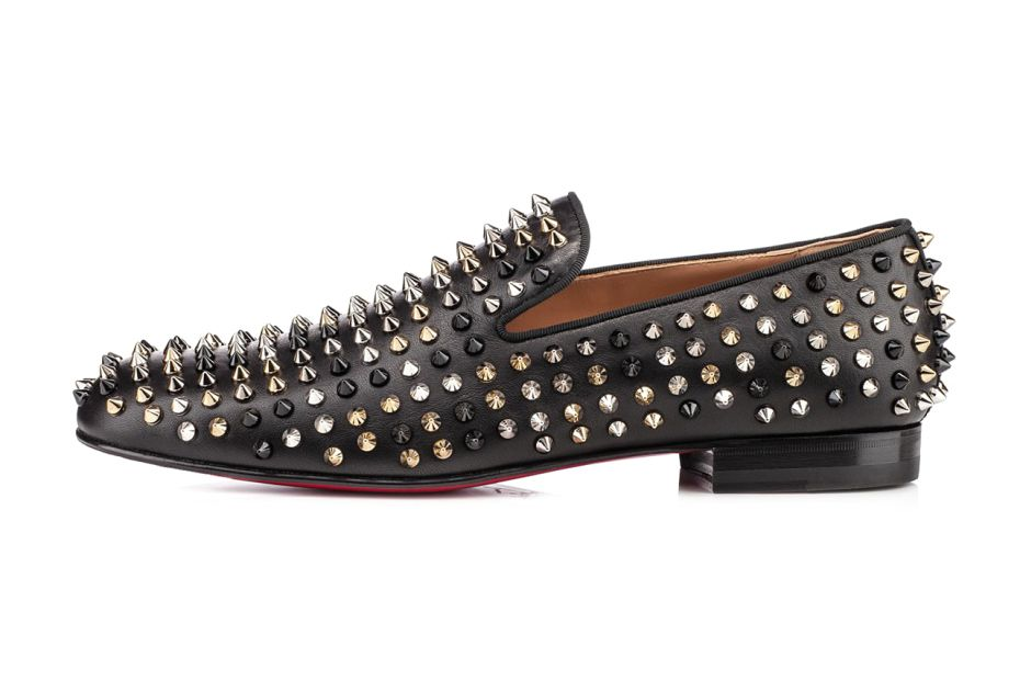 a1bd612a41f6 Image of Christian Louboutin Rollerboy Spiked Leather Loafers