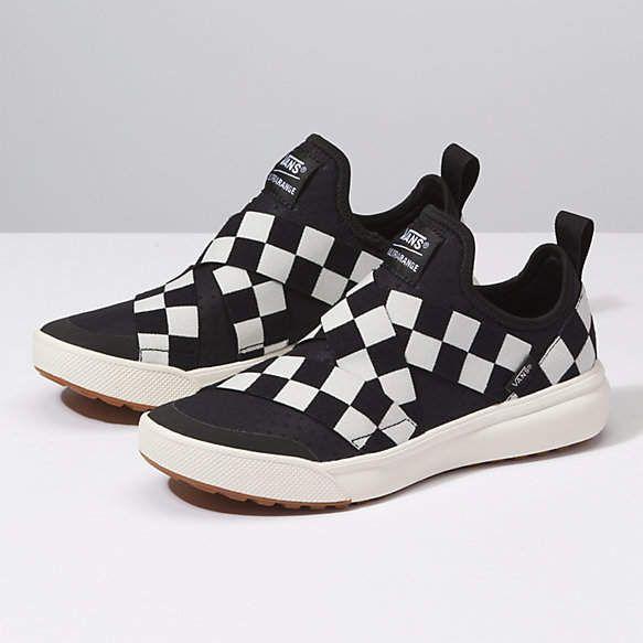 f9df615fb65 Mega Check UltraRange Gore Women's Shoes Sandals, Top Shoes, Vans  Checkerboard, Laid Back