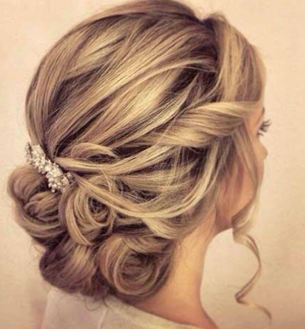 Latest Hair Style 2018 Attend Wedding Hair Tied Back: Hair Styles, Hair Lengths, Up Dos For