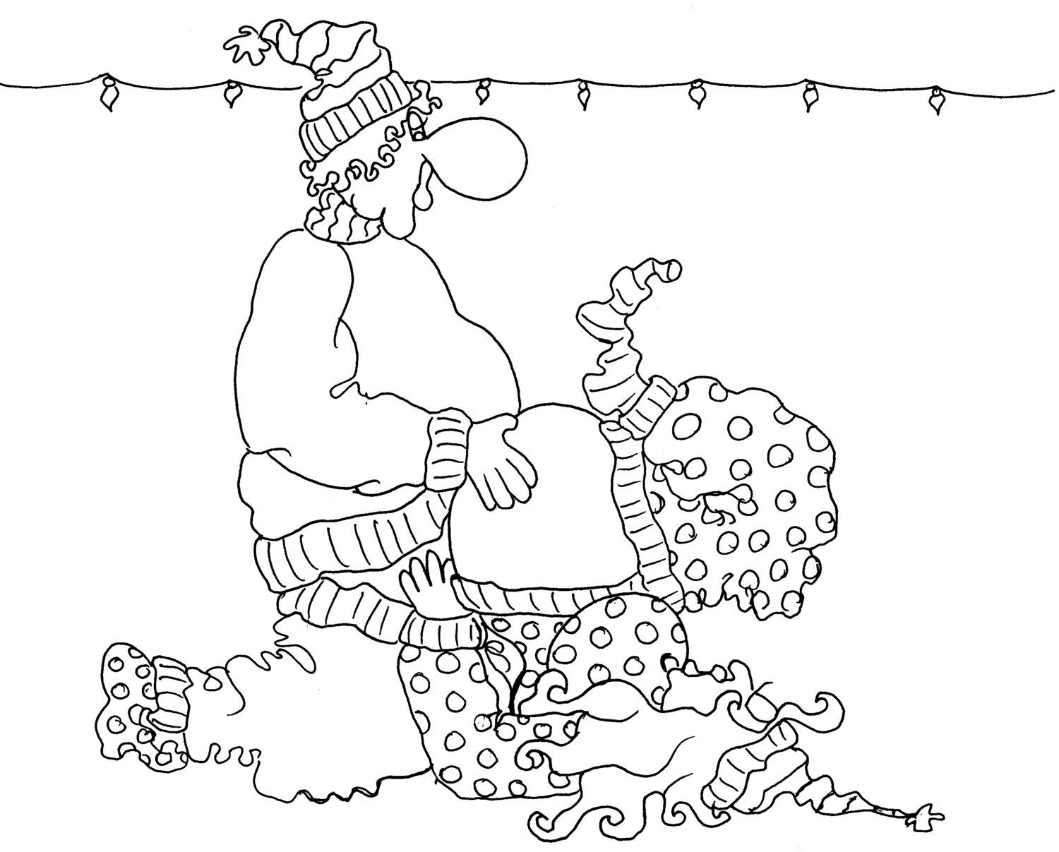 The G Force - a Kama Sutra Sexy Adult Coloring Page from the Chubby ...