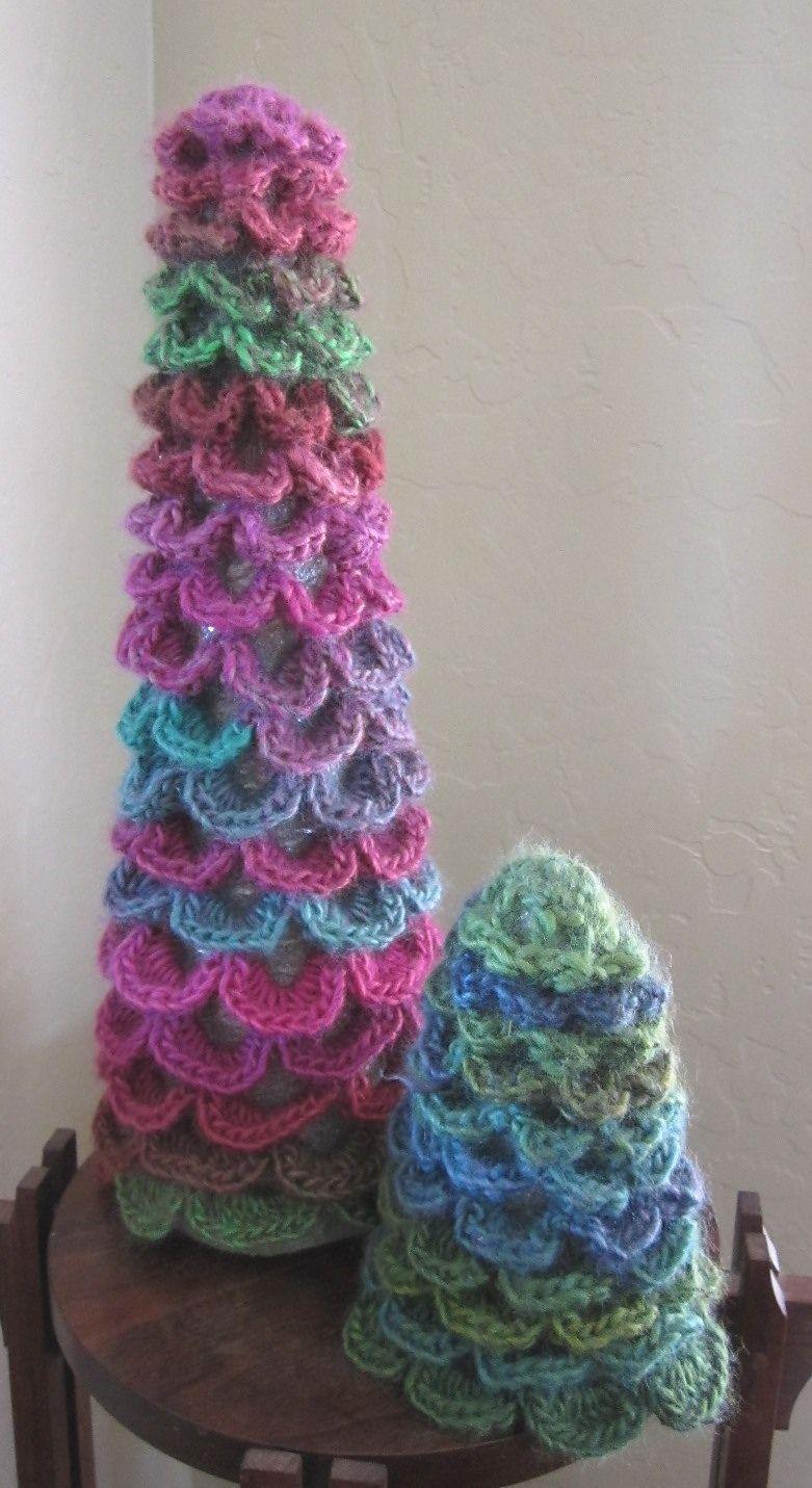 Ravelry Pine Trees by Yumiko Alexander Crochet patterns