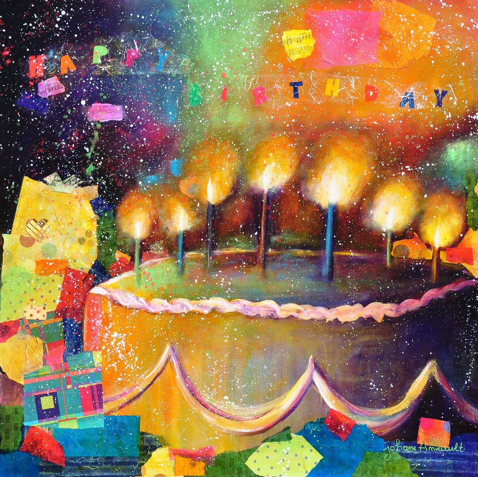 Happy Birthday Artist Special Days Art
