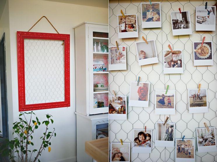 diy {origrami chicken wire frame} | diy someday | Pinterest ...