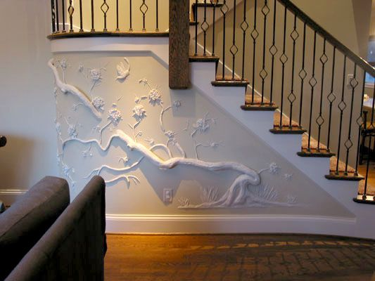 Tom Moberg Is A Very Talented Artist Who Uses Drywall And Joint Compound Among Other Things As His Medium T Plaster Wall Art Drywall Art Metal Tree Wall Art