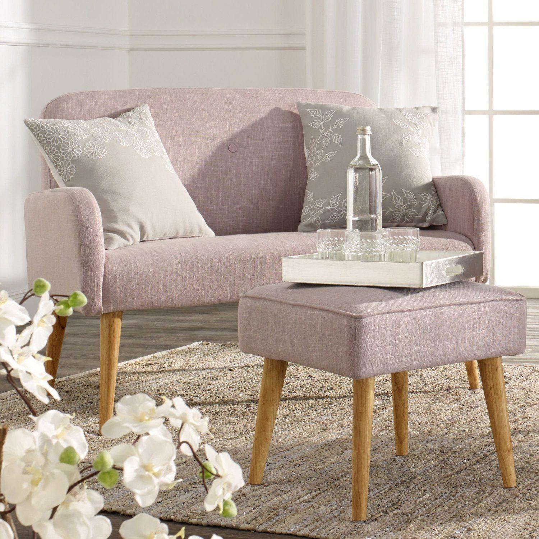 miavilla sitzbank mila mit lehne retro look grau k che haushalt living. Black Bedroom Furniture Sets. Home Design Ideas