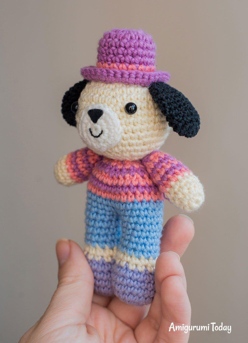 Charlie the Dog crochet pattern | Häkelmuster, Amigurumi häkeln und ...