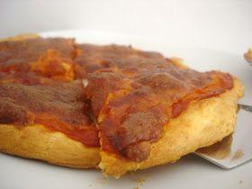 Sabores da Alma: Pizza de Tomate e Fiambre
