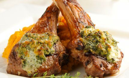 Bleu Cheese Crusted Lamb Chops   Plugrá #recipe   Perfect for Father's Day or a weekend cookout!