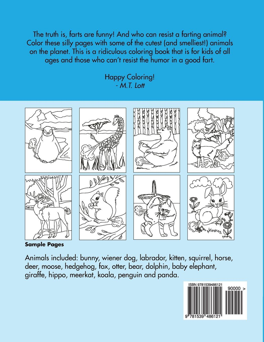 12+ Farting animals coloring book ideas in 2021