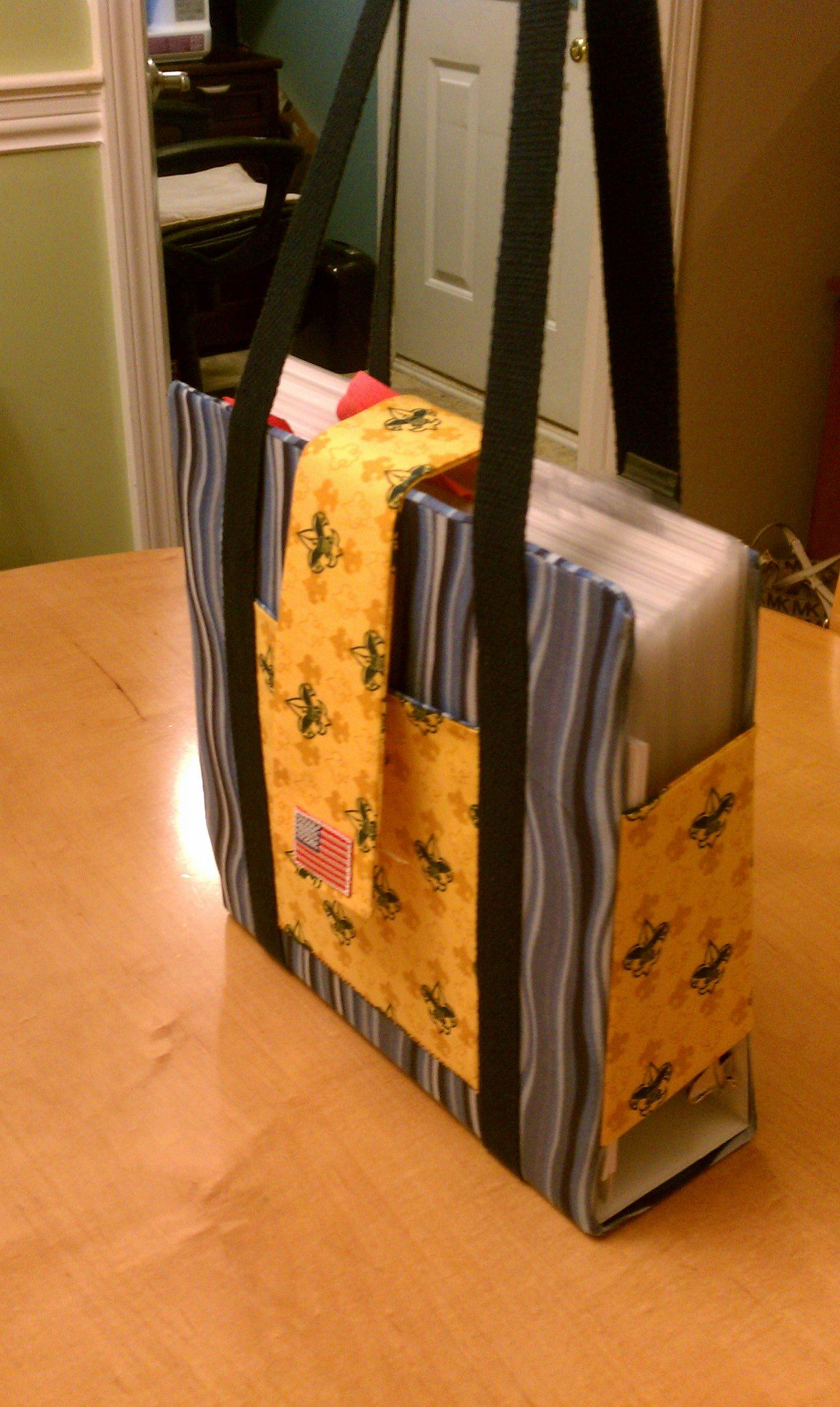 Boy Scout Binder Cover! - Made this one for my friend Jennifer to ...