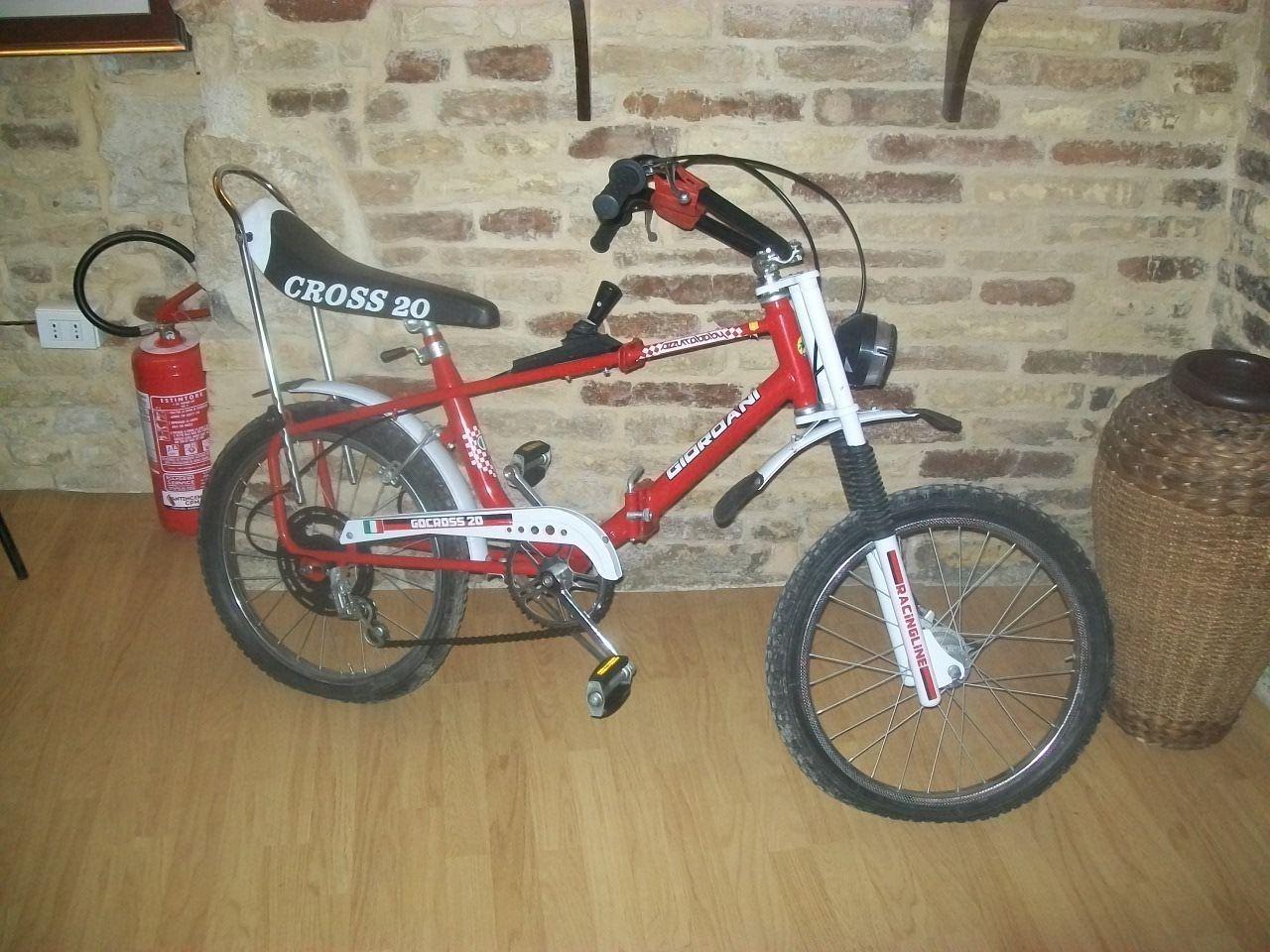 Giordani Bicicletta Cross Da Bambino Originale Vintage Fondo Di