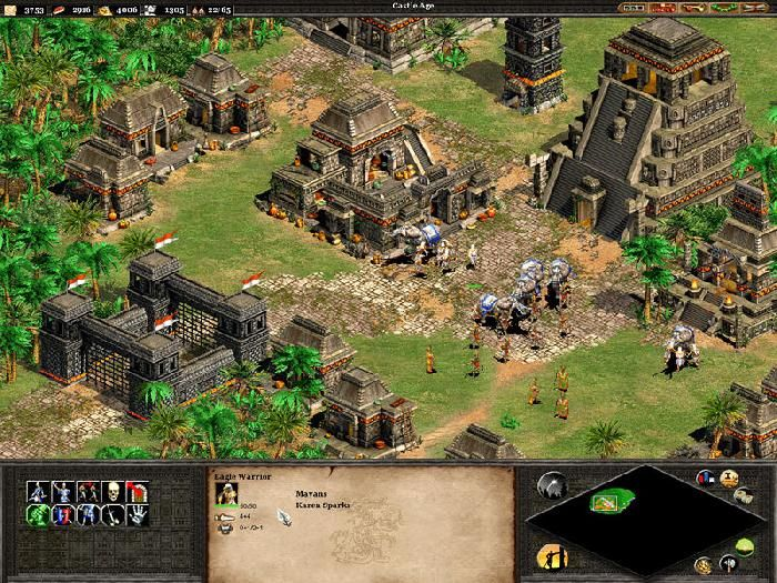 Playing With The Mayans Age Of Empires Ii