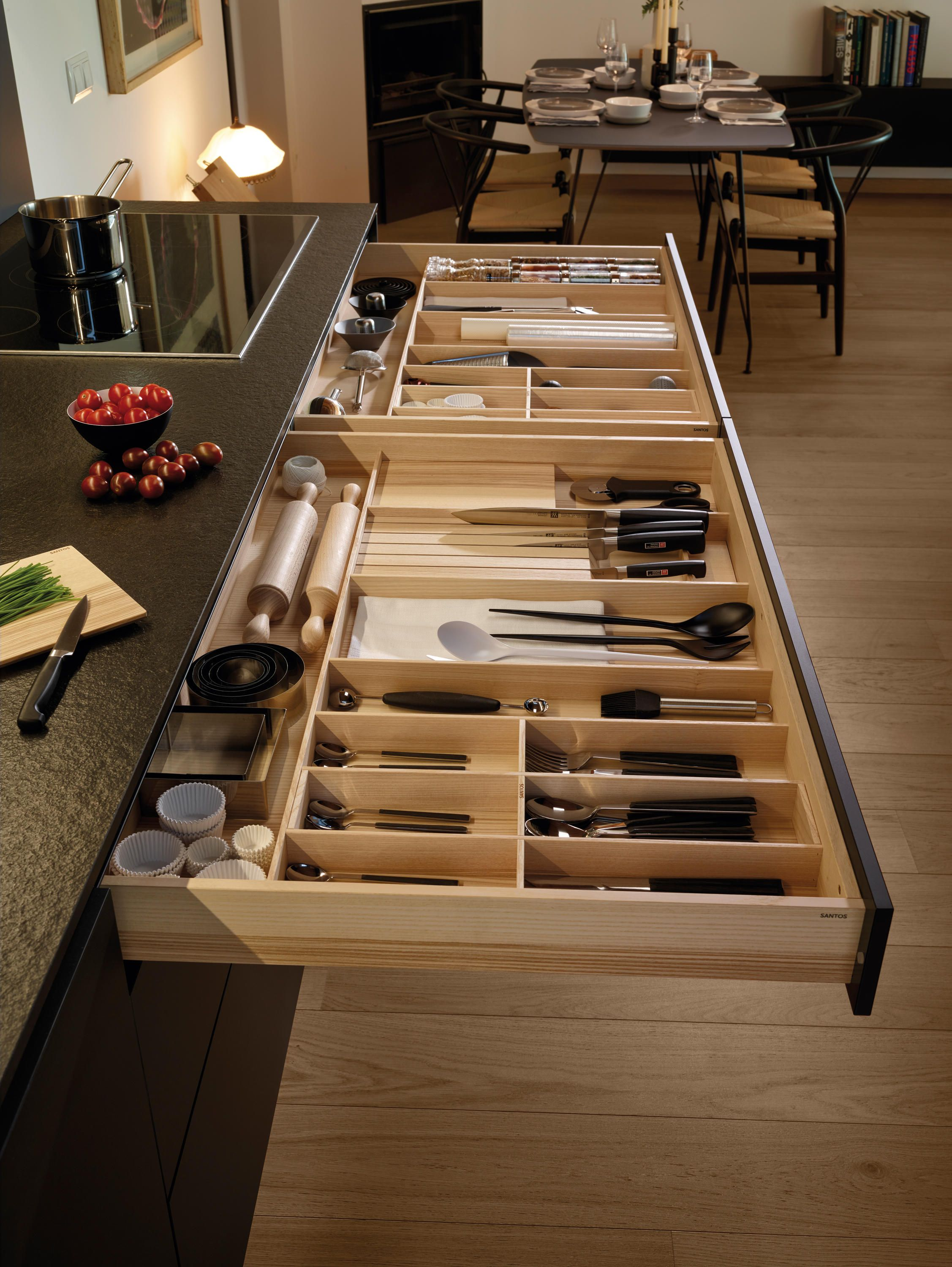 LINE Silk Three levels of drawers   Architonic