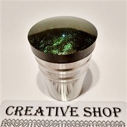 Creative Shop-Stamper+Scraper Space Collection-Black with Green Shimmer  Available at beautometry.com