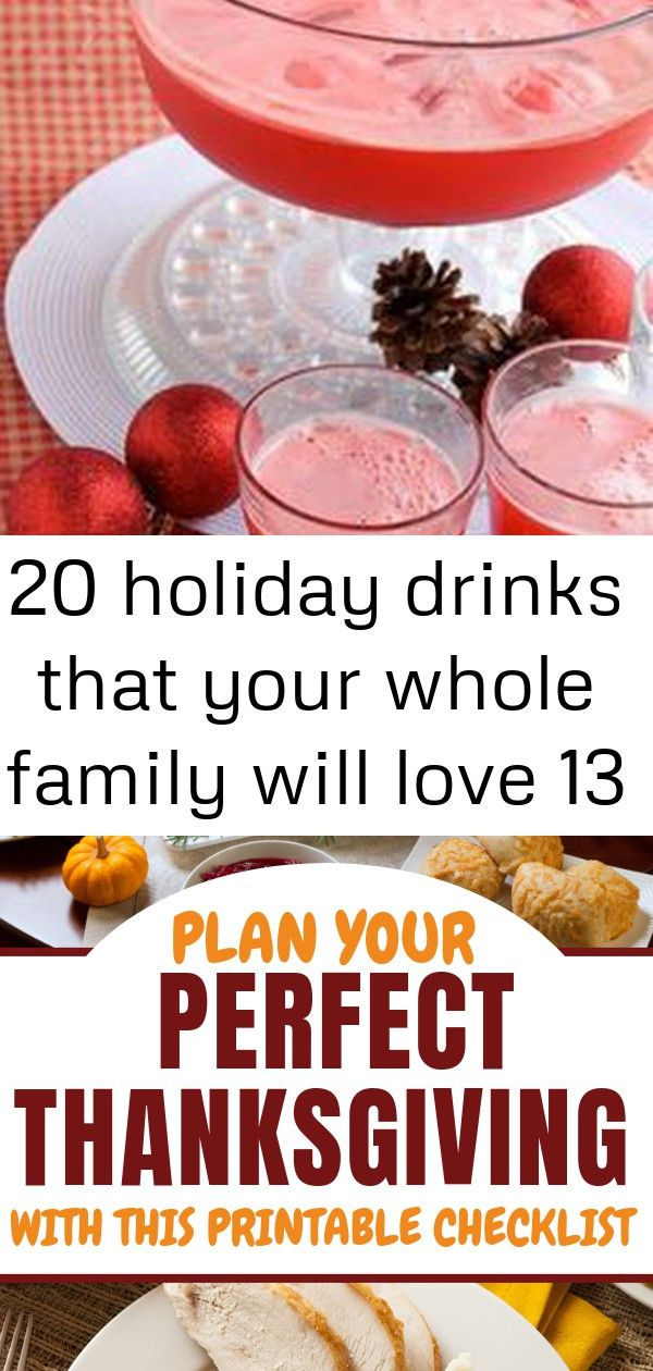 20 holiday drinks that your whole family will love 13